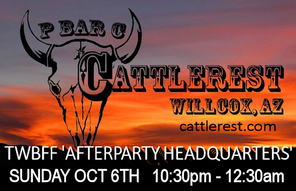 CATTLEREST - TWBFF AFTERPARTY HEADQUARTERS
